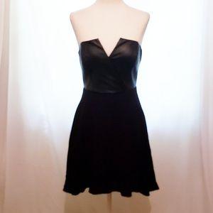 """Naven Black """"Bombshell"""" Strapless Dress Size 0"""